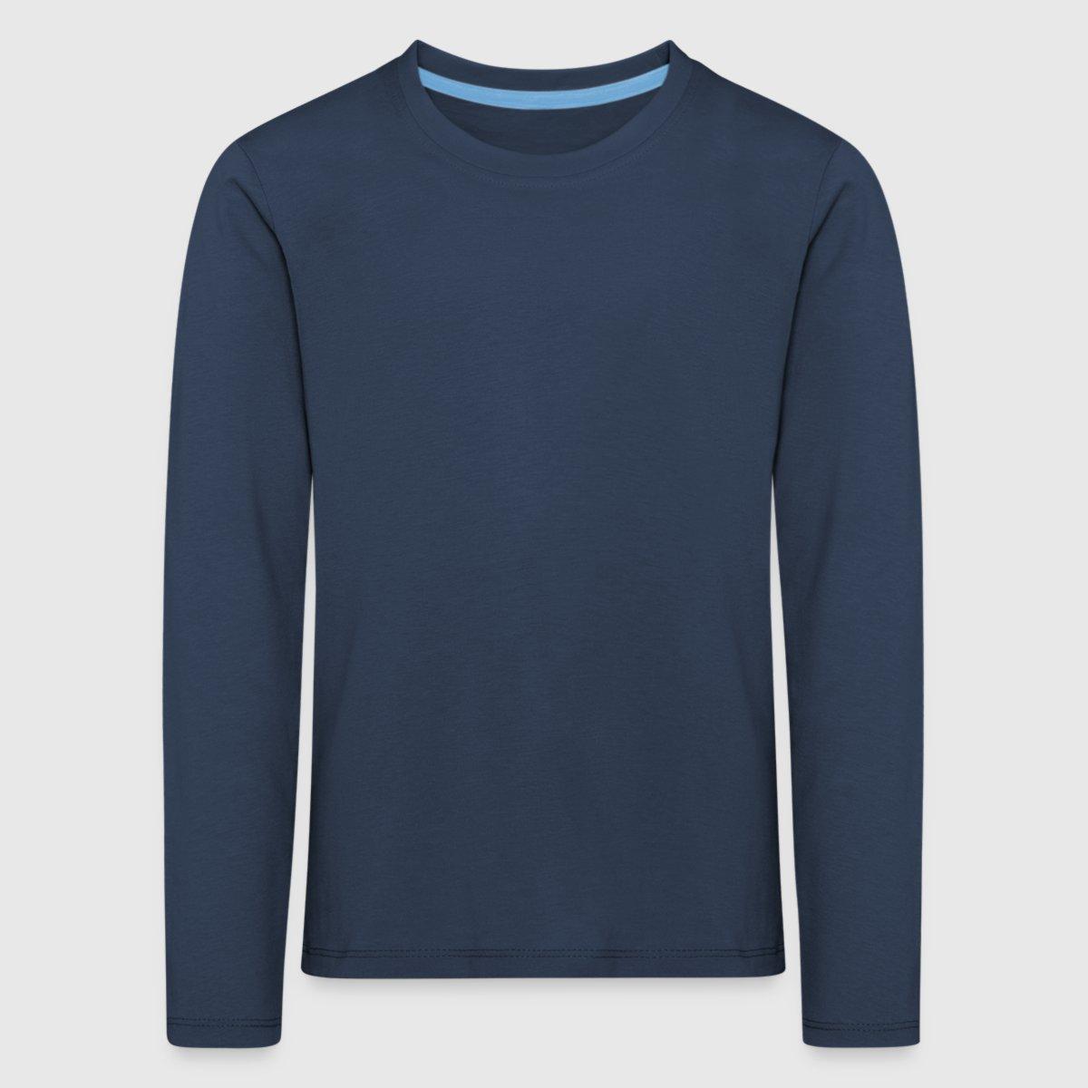 cda69114 Premium langermet T-skjorte for barn | Spreadshirt
