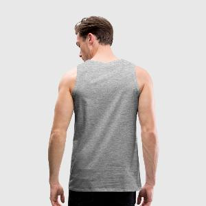 Men's Premium Tank Top - Back