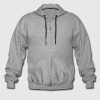 :: ASCII-art: owl :-: - Men's Premium Hooded Jacket