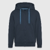 I survived the Blue Oyster Bar - Men's Premium Hooded Jacket