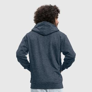 Men's Premium Hooded Jacket - Back