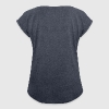Merci Beaucoup - Women's T-shirt with rolled up sleeves