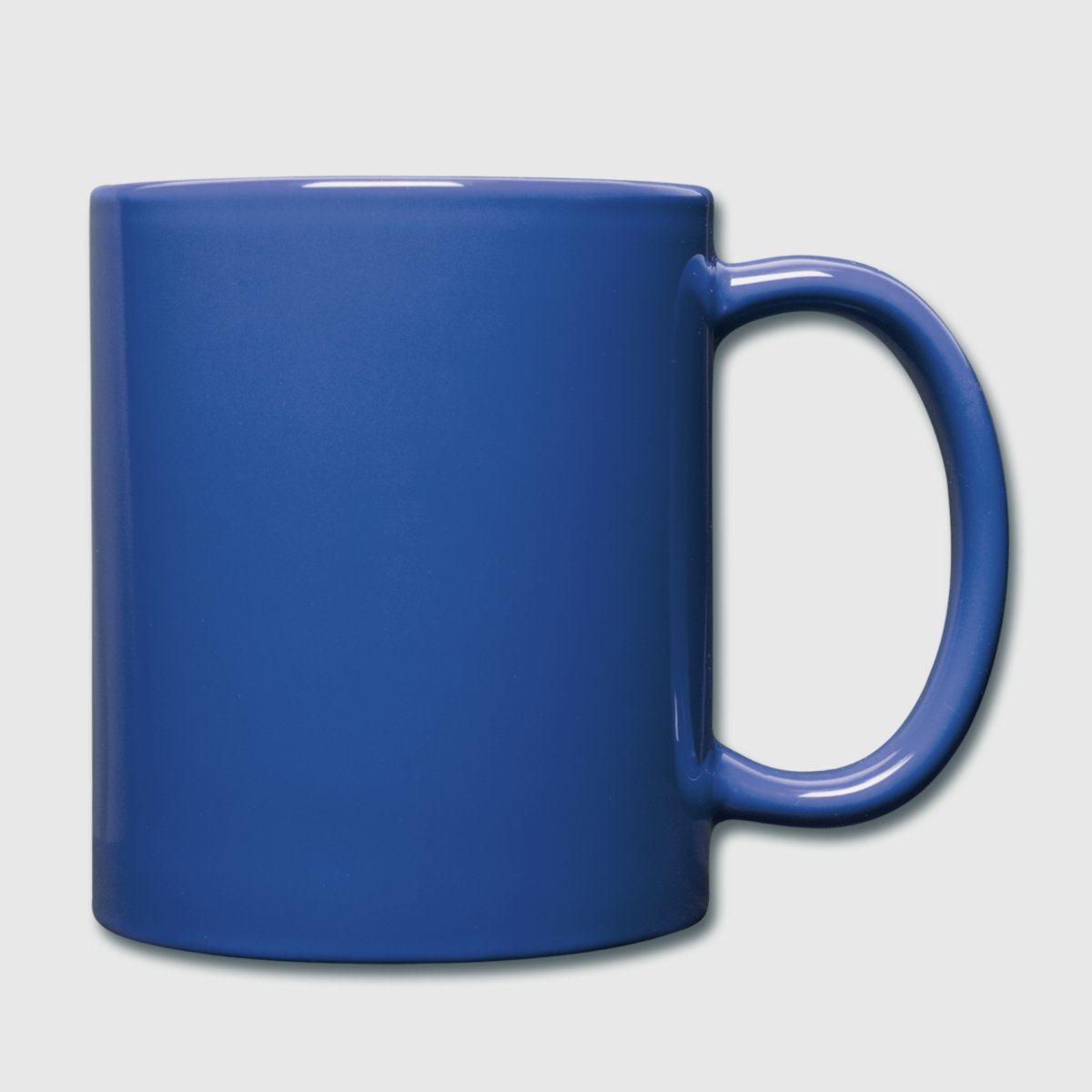 Taza de un color - dcha.