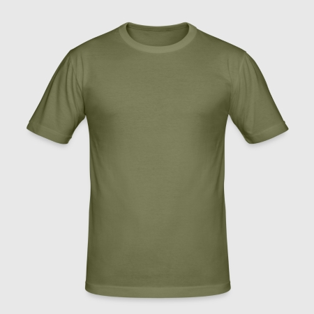 Men's Slim Fit T-Shirt - Front
