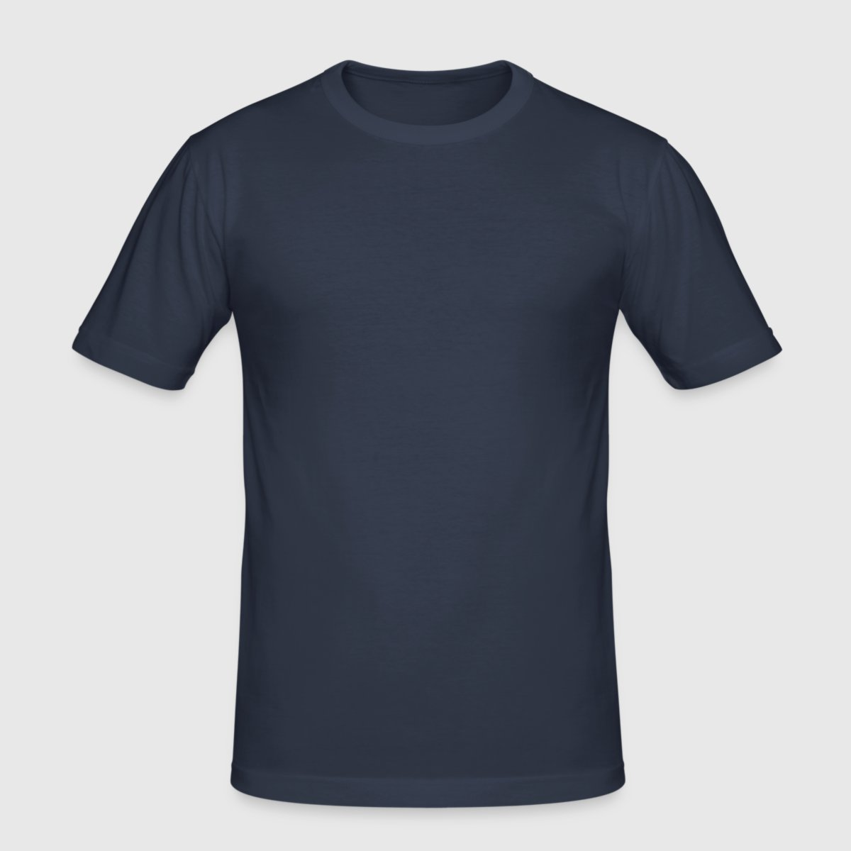 Mannen slim fit T-shirt - Voor