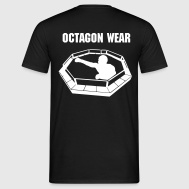 T-Shirt Octagon Wear front and back, loose fit - Männer T-Shirt