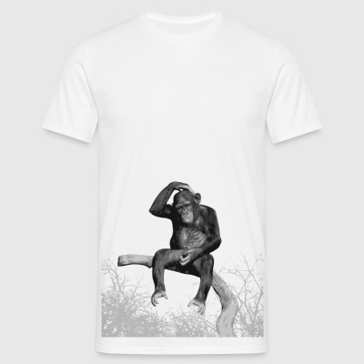 Monkey Music - Men's T-Shirt