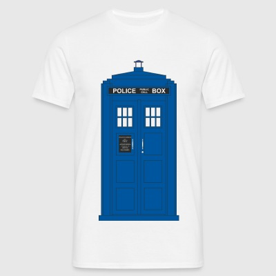 Police Call Box - Men's T-Shirt