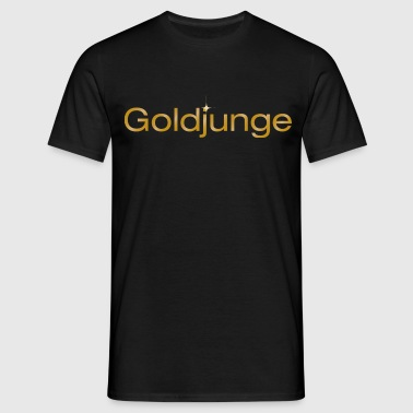 T-Shirt Goldjunge - Männer T-Shirt