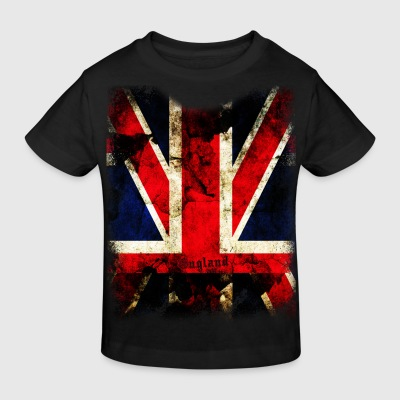 union_jack_down Kids' Shirts - Kids' Organic T-shirt