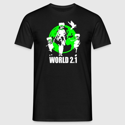 world 2.1 T-Shirts - Männer T-Shirt