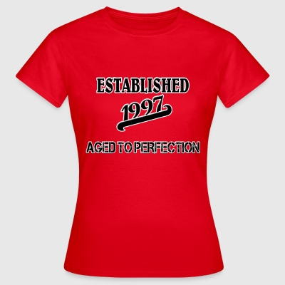 Established 1997 Camisetas - Camiseta mujer