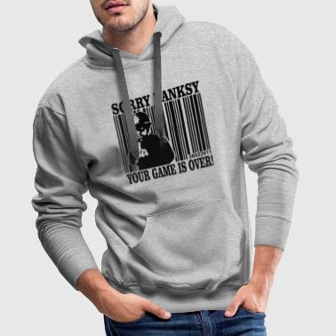 banksy is game over - Men's Premium Hoodie