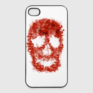 Splatter Slull (red Blood) - iPhone 4/4s Hard Case