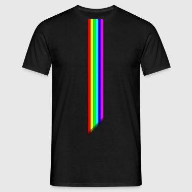 Rainbow Stripes - Men's T-Shirt