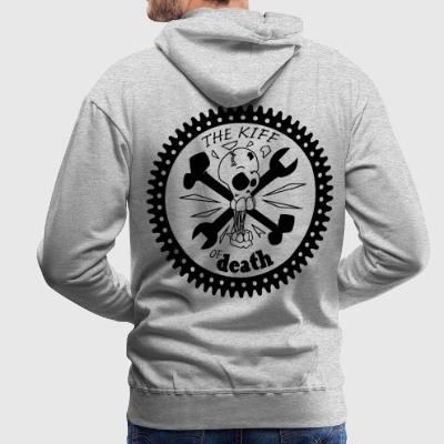 kiff of death Sweat-shirts - Sweat-shirt à capuche Premium pour hommes