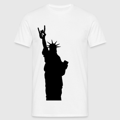 rock for freedom T-Shirts - Männer T-Shirt