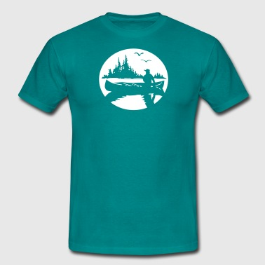 Canoe Kayak Canada Fishing Outdoor 3 tshirt  T-Shirts - Men's T-Shirt