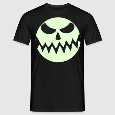 Halloween-Moon - Männer T-Shirt