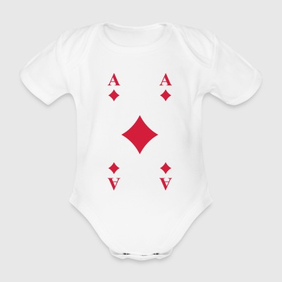 Karo Ass T-Shirts - Baby Bio-Kurzarm-Body