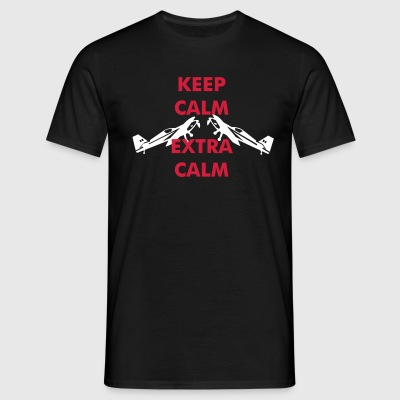 Keep Calm Extra - Men's T-Shirt