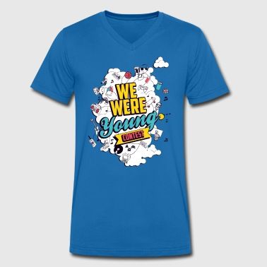 T-Shirt col v We Were Young - T-shirt bio col V Stanley & Stella Homme