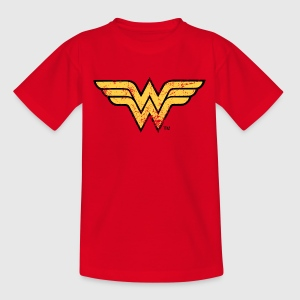 Wonder Woman Logo T-shirt för barn - T-shirt barn