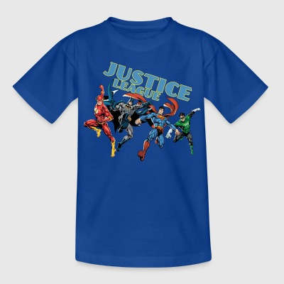 Justice League Charkater Mix T-shirt för barn - T-shirt barn
