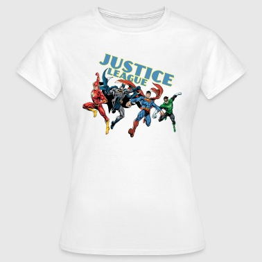 Justice League Charkater Mix T-shirt för damer - T-shirt dam