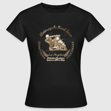 Motorcycle Road Race - Frauen T-Shirt