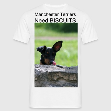 Manchester Terrier - Men's T-Shirt