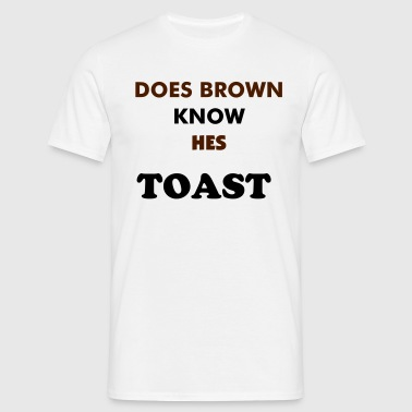 BYE BYE BROWN - Men's T-Shirt