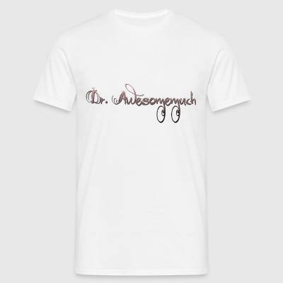 Dr. Awesomemuch by Svada® - T-skjorte for menn