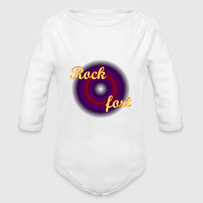 Hard Rock Pullover & Hoodies - Baby Bio-Langarm-Body