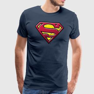 Superman S-Shield Used Look 2 Männer T-Shirt - Männer Premium T-Shirt