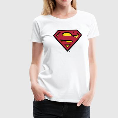 Superman S-Shield T-shirt dam - Premium-T-shirt dam