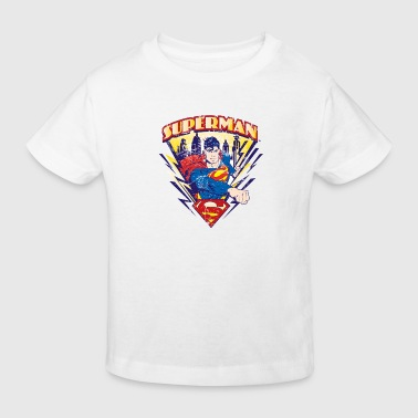 Tee-shirt Enfant Superman Metropolis - T-shirt bio Enfant
