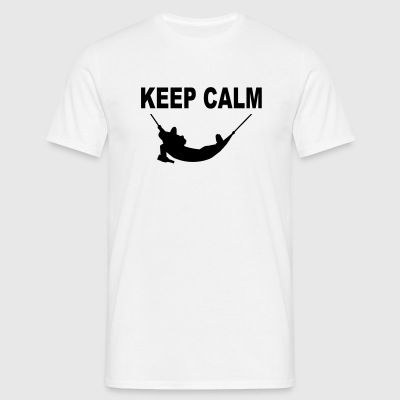 keep calm  T-Shirts - Männer T-Shirt