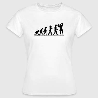 Evolution | Womens T-shirt - Women's T-Shirt