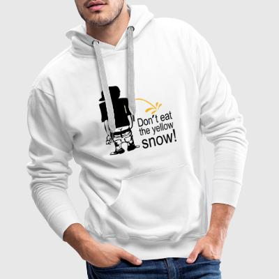 don't eat the yellow snow Pullover & Hoodies - Männer Premium Hoodie