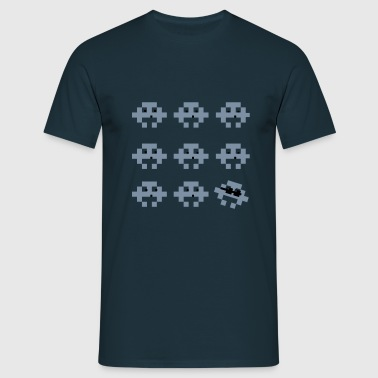 Space invaders Retro T shirt - Men's T-Shirt