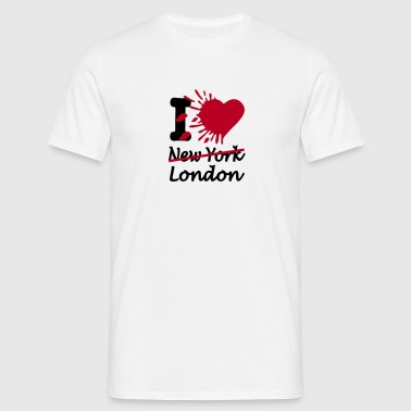 i love london T-Shirts - Männer T-Shirt