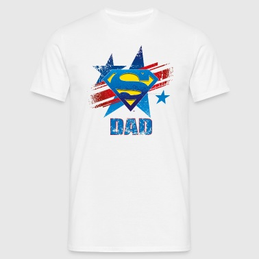 Superman 'S-Shield Dad' Tee shirt Homme - T-shirt Homme