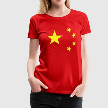 China Flag Women's T-Shirt - Women's Premium T-Shirt