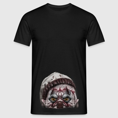 clown watch... - Männer T-Shirt