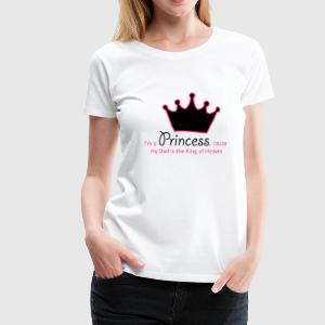 Princess (JESUS-shirts) - Frauen Premium T-Shirt
