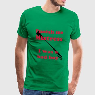 Punish me... with riding crop - Männer Premium T-Shirt