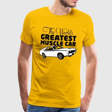 Greatest Muscle Car - Javelin - T-shirt Premium Homme