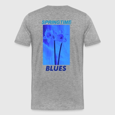 Ash Grey daffodils for Spring Men's Tees - Men's Premium T-Shirt