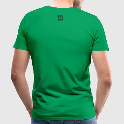 Kelly green Hamburger kawaii T-Shirts - Männer Premium T-Shirt